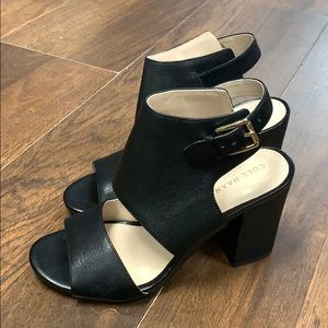 Cole Haan black leather shoe size 5